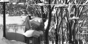 Vintage: 1958 Blizzard in New York