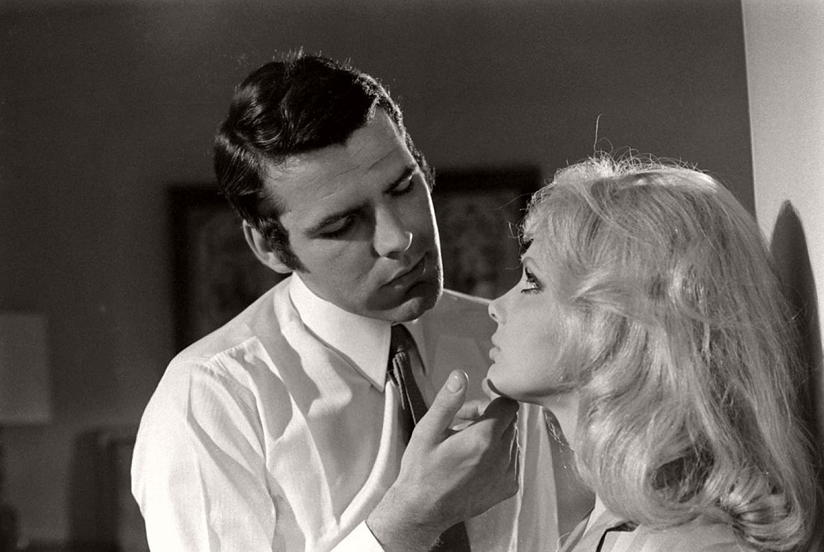 Hans De Vries and France Anglade, James Bond audition, 1967.