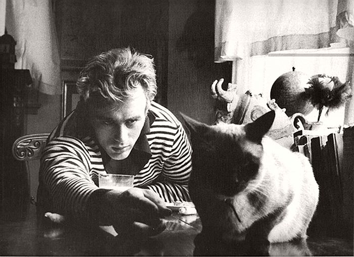 James Dean with Marcus