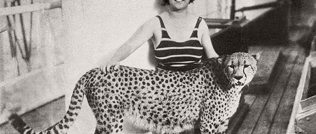 Vintage: Celebrities with their Pets