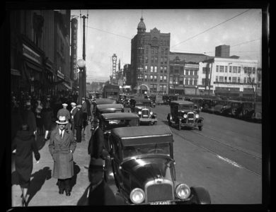 Vintage: Glass Plate Collection from the Illinois State Journal (1929 – 1936)