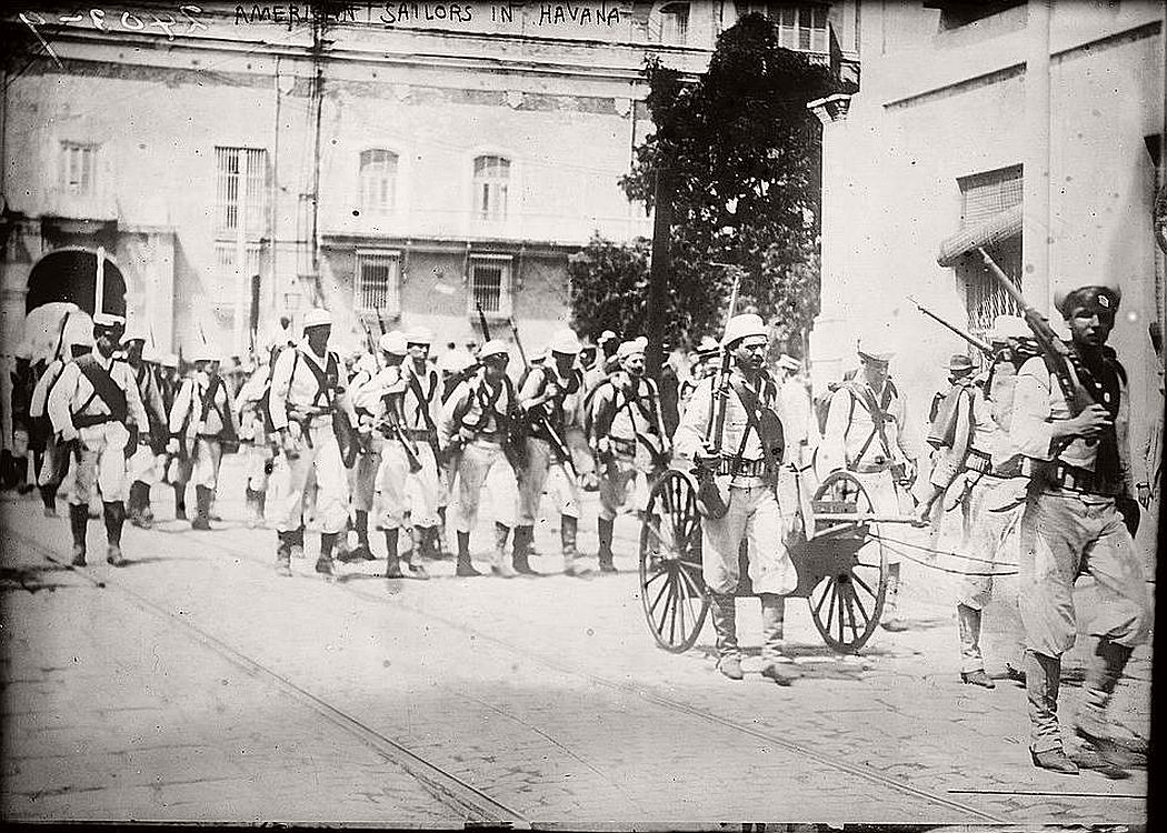 American sailors in Havana, ca. 1910-15