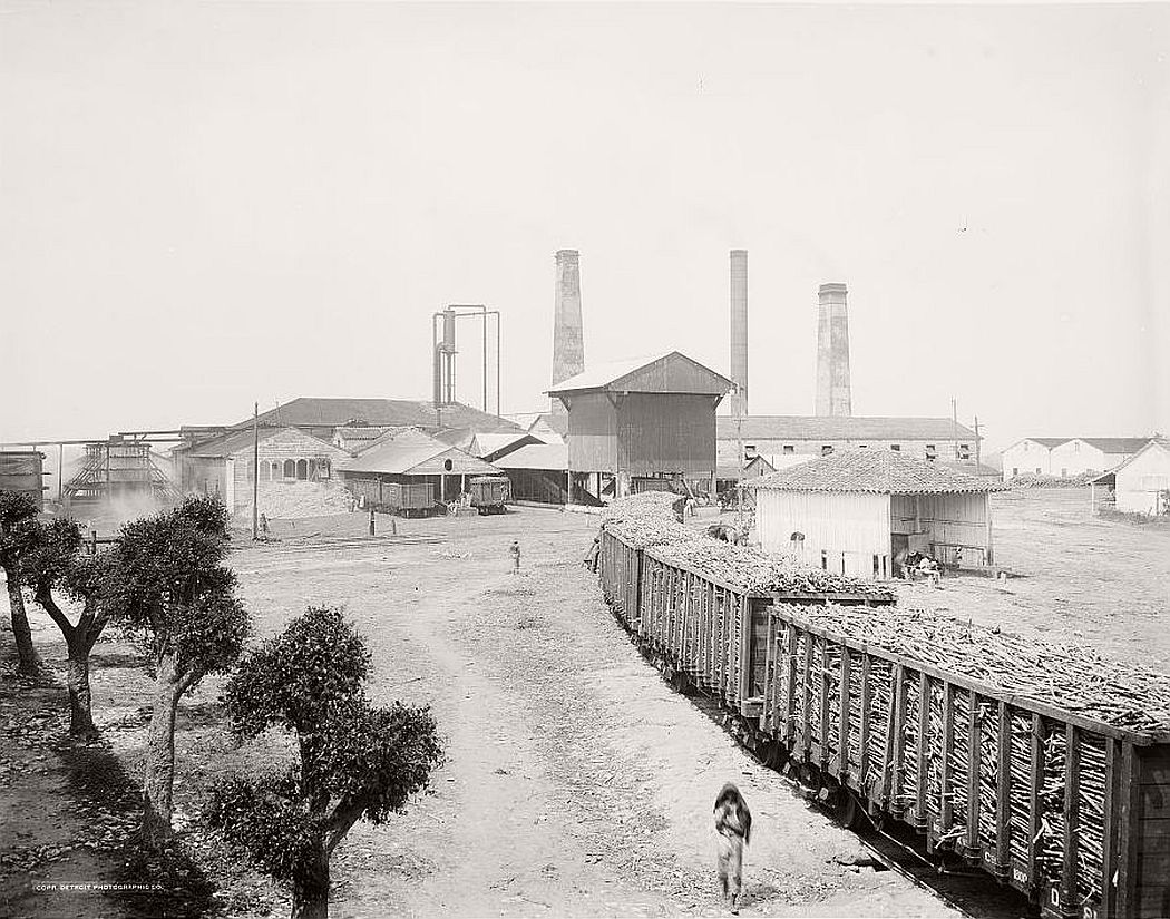 Old sugar mill, Havana, 1904