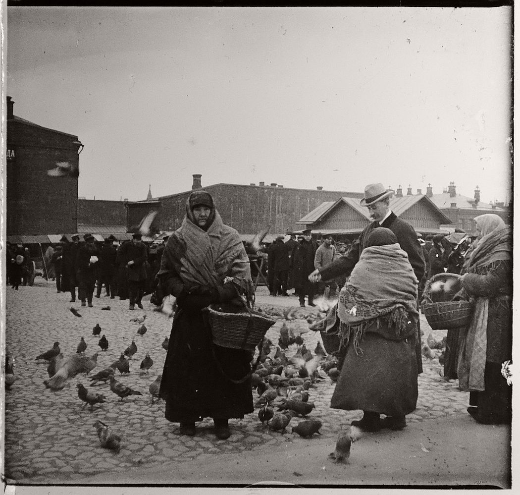 Marketplace, Moscow ca. 1910s