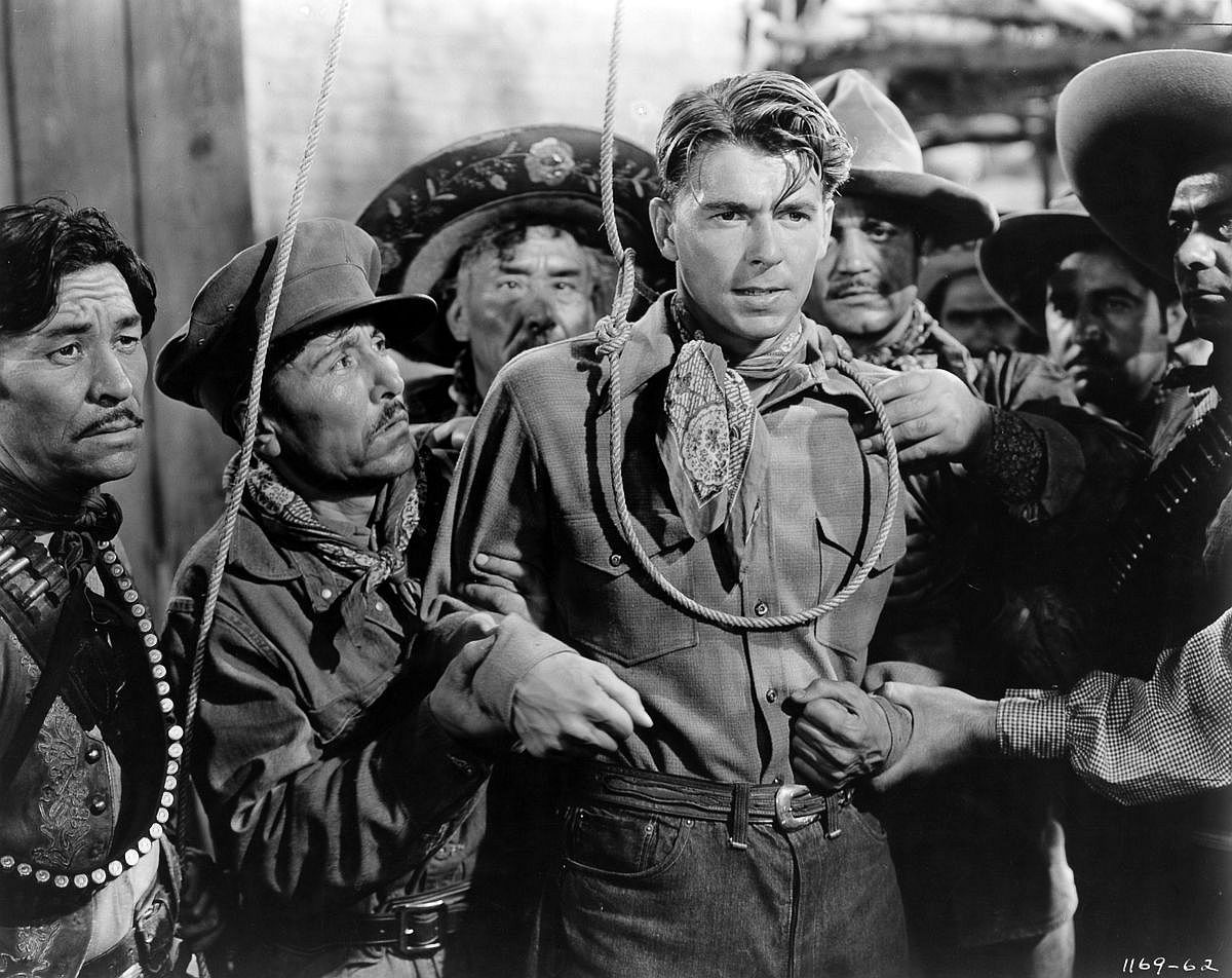1941  Reagan in The Bad Man.  Image: Michael Ochs Archives/Getty Images
