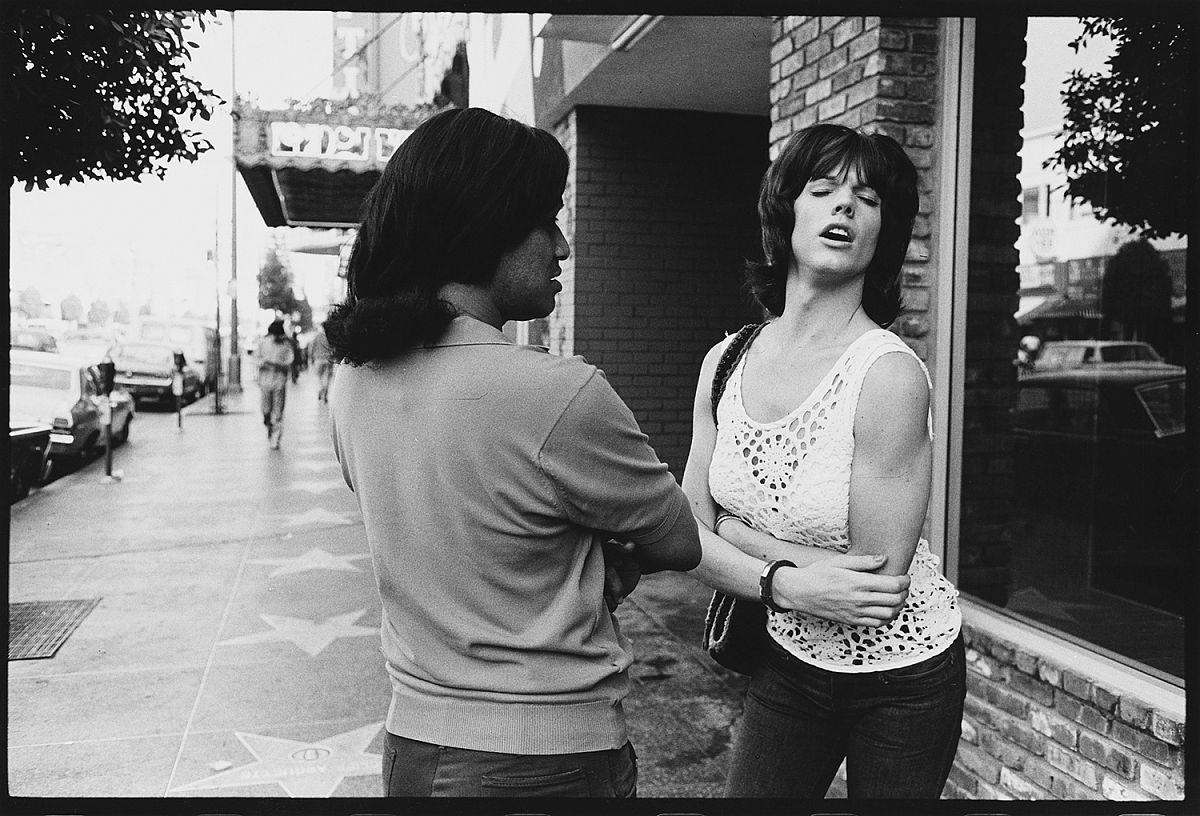 Hustler in Drag, Hollywood, 1971