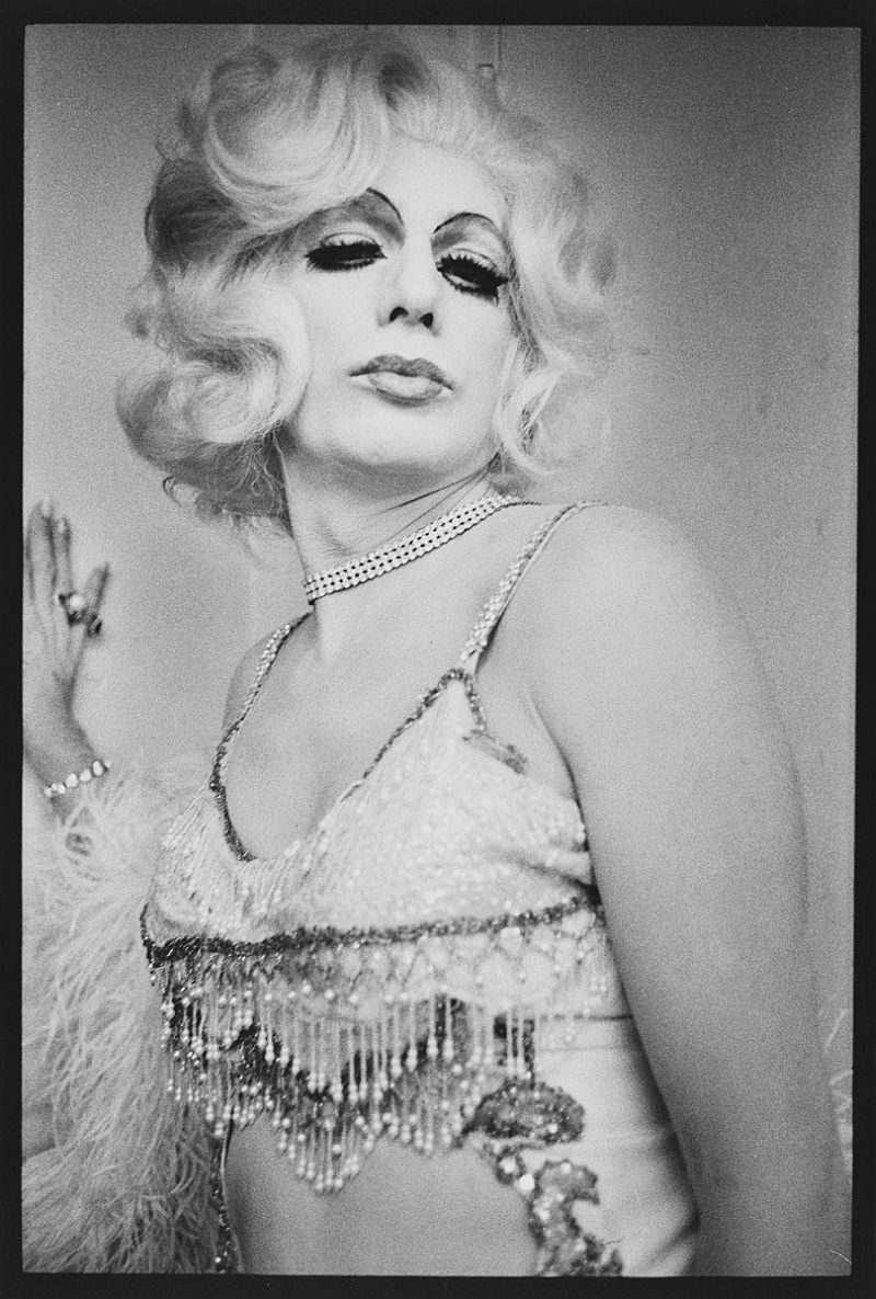 Jean Harlow, Drag Queen Ball, Long Beach, 1971.