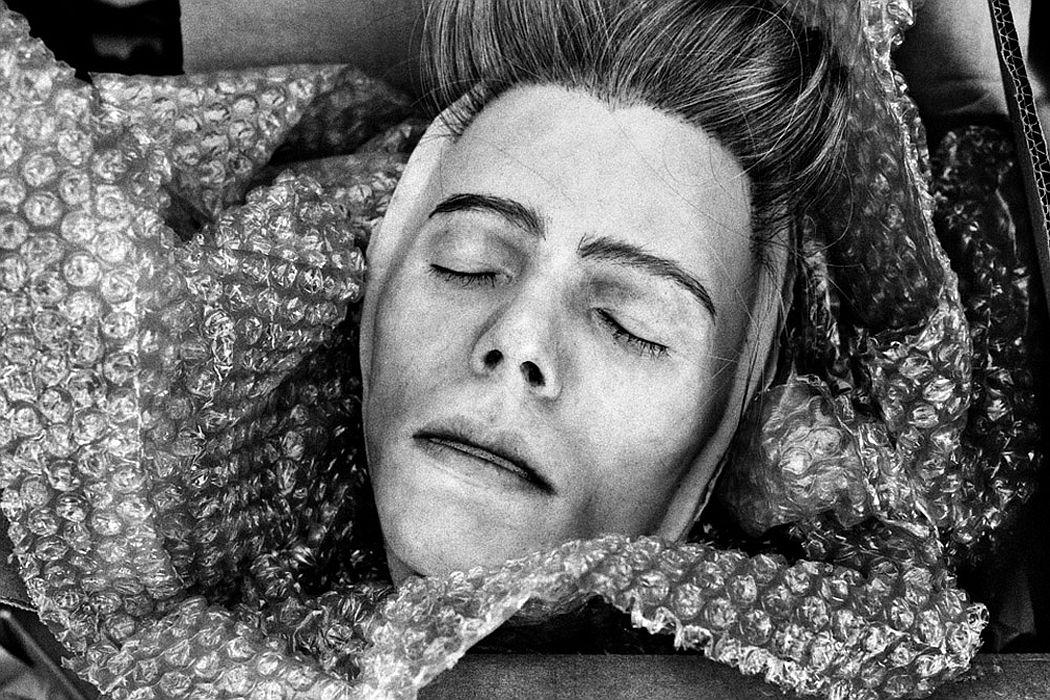 Anton Corbijn David Bowie (mask), Montreal 2013