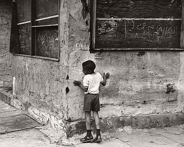 Beuford Smith, Playing 'Hide and Seek', 1968