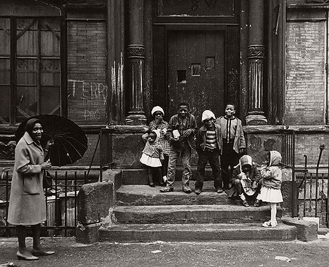 Beuford Smith, Harlem Children, Easter Sunday, 1965