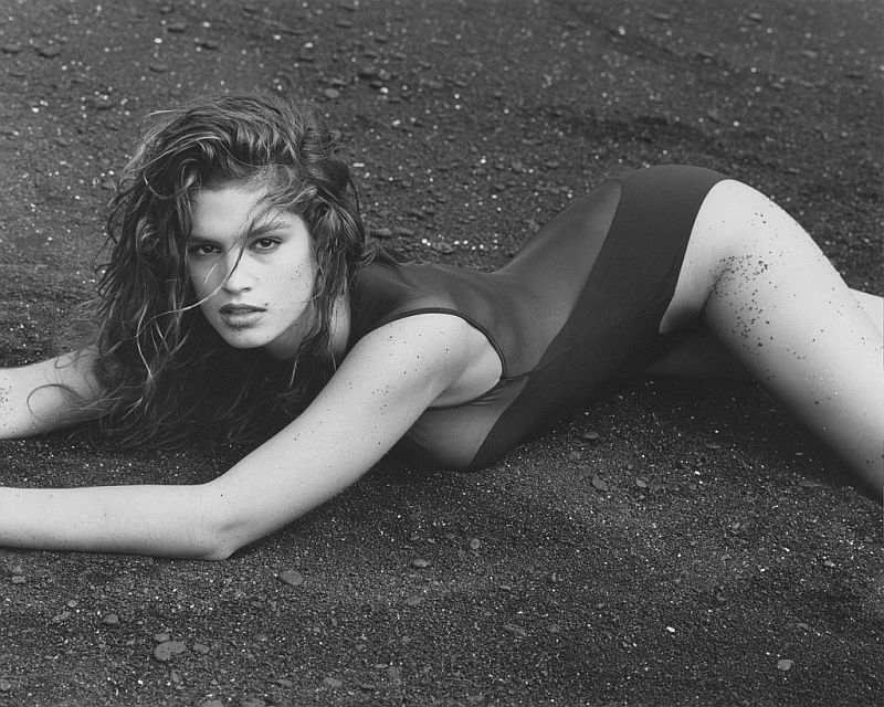 Herb Ritts, Cindy Crawford (R), Hawaii, 1988