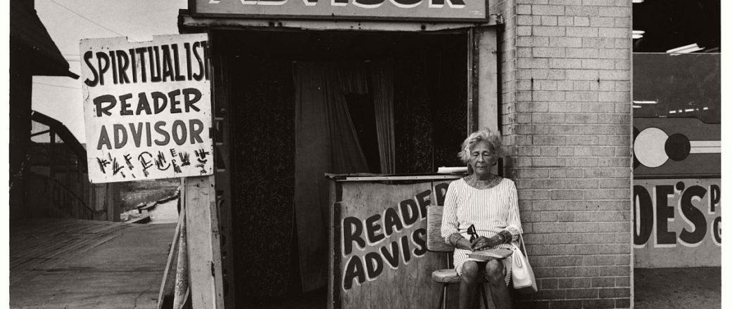 Vintage: Coney Island, New York by Stephen Salmieri (1960s)