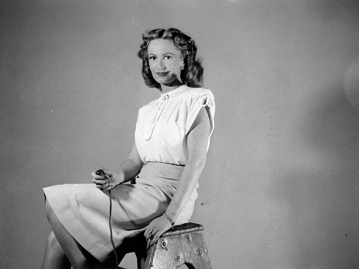 Actress Geraldine Fitzgerald