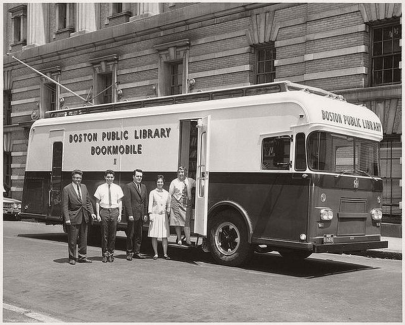 Boston Public Library Bookmobile, 1963