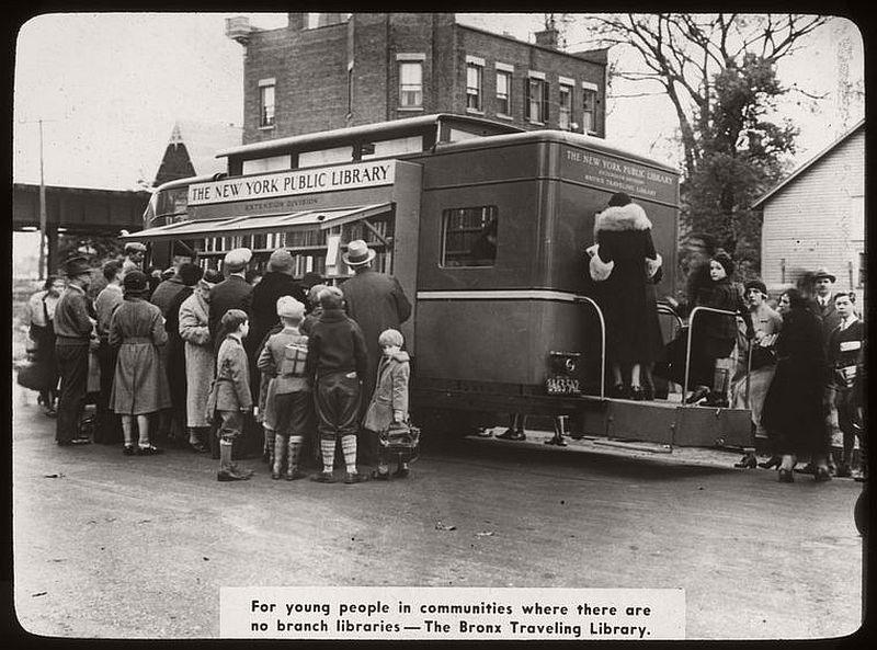 Bronx Bookmobile, 1938