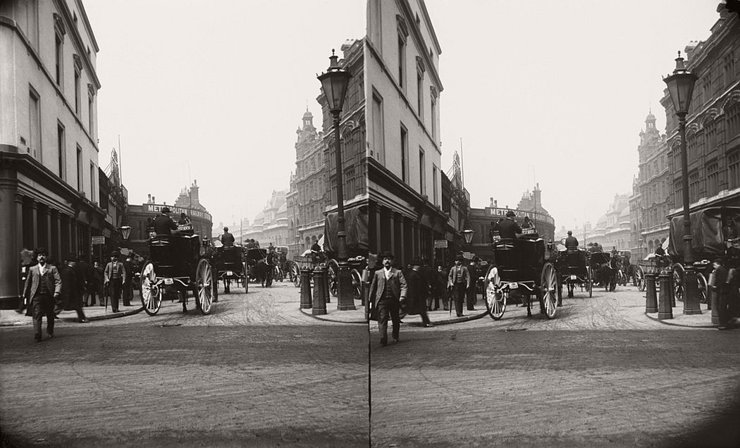 Liverpool Street station, ca. 1890.