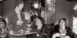 Vintage: First Female Flight Attendants (1930s)
