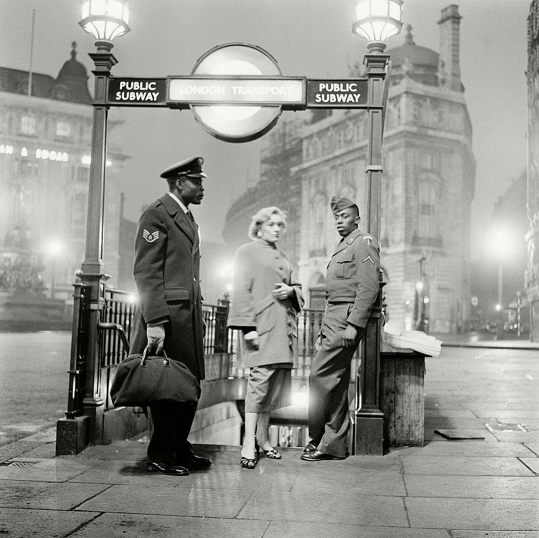 All-night dancing, 1955.