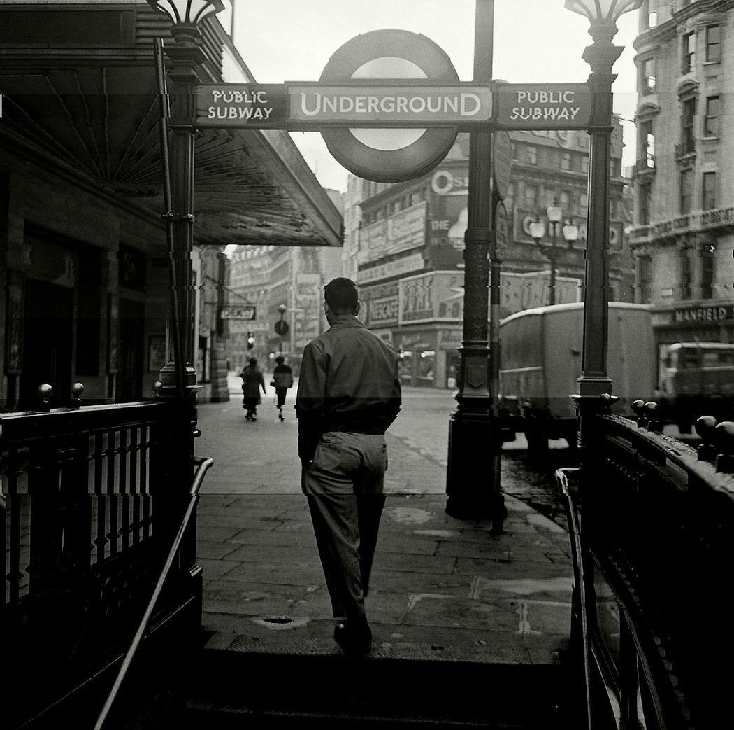 Downtown Soho, 1956.