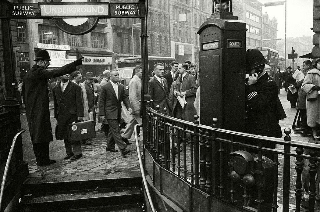 Rush hour, 1956.