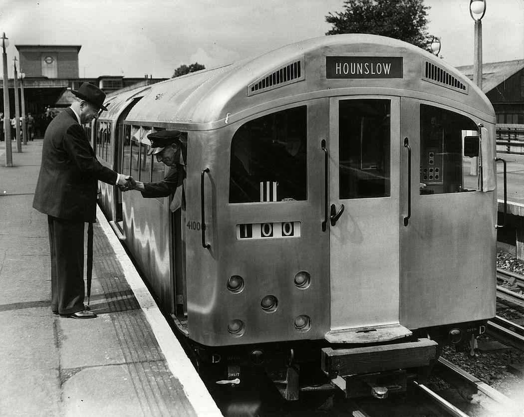 Silver trains, 1957.