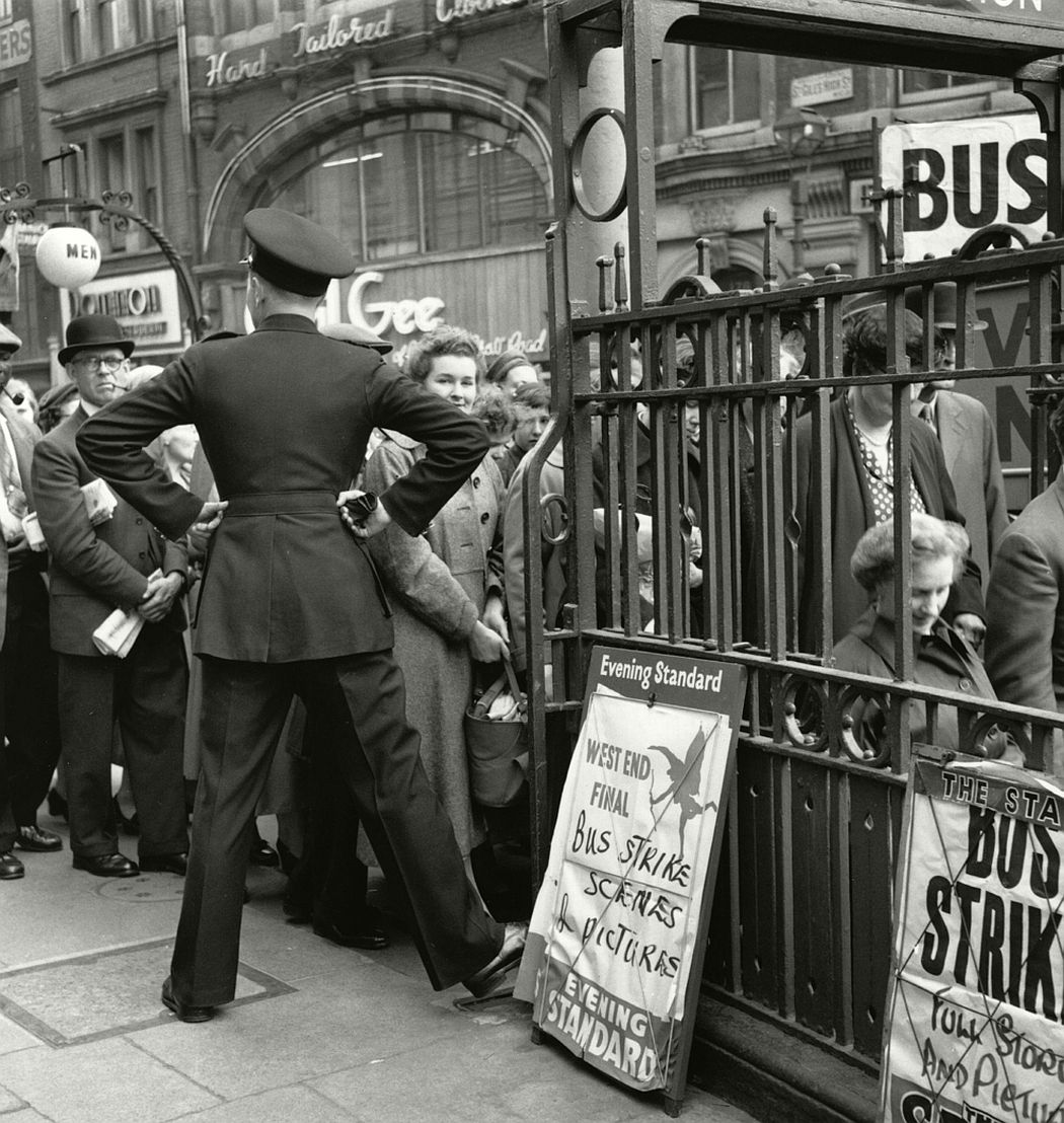 Bus strike, 1958.