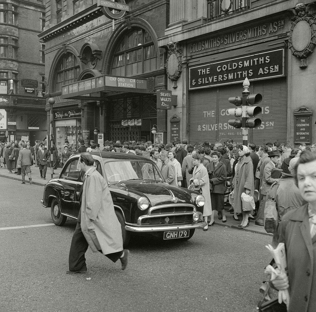 Oxford Circus, 1958.