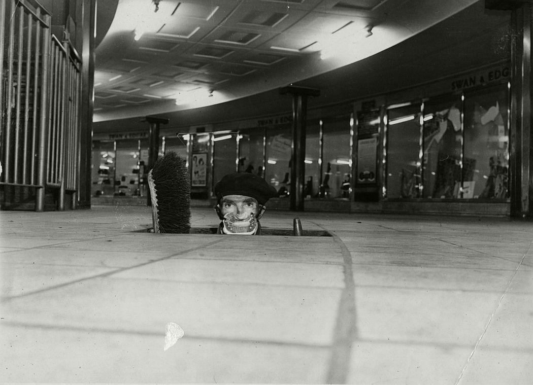 Tube cleaner, 1952.