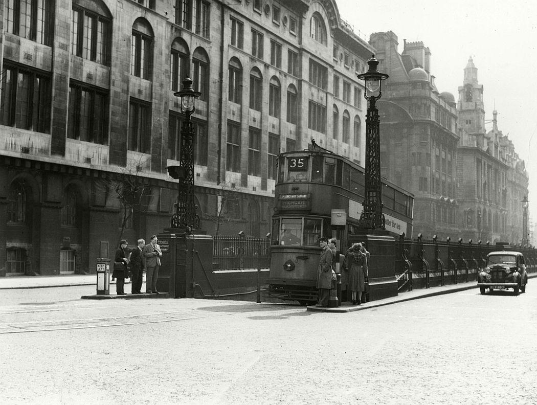 Kingsway Tram, 1952.