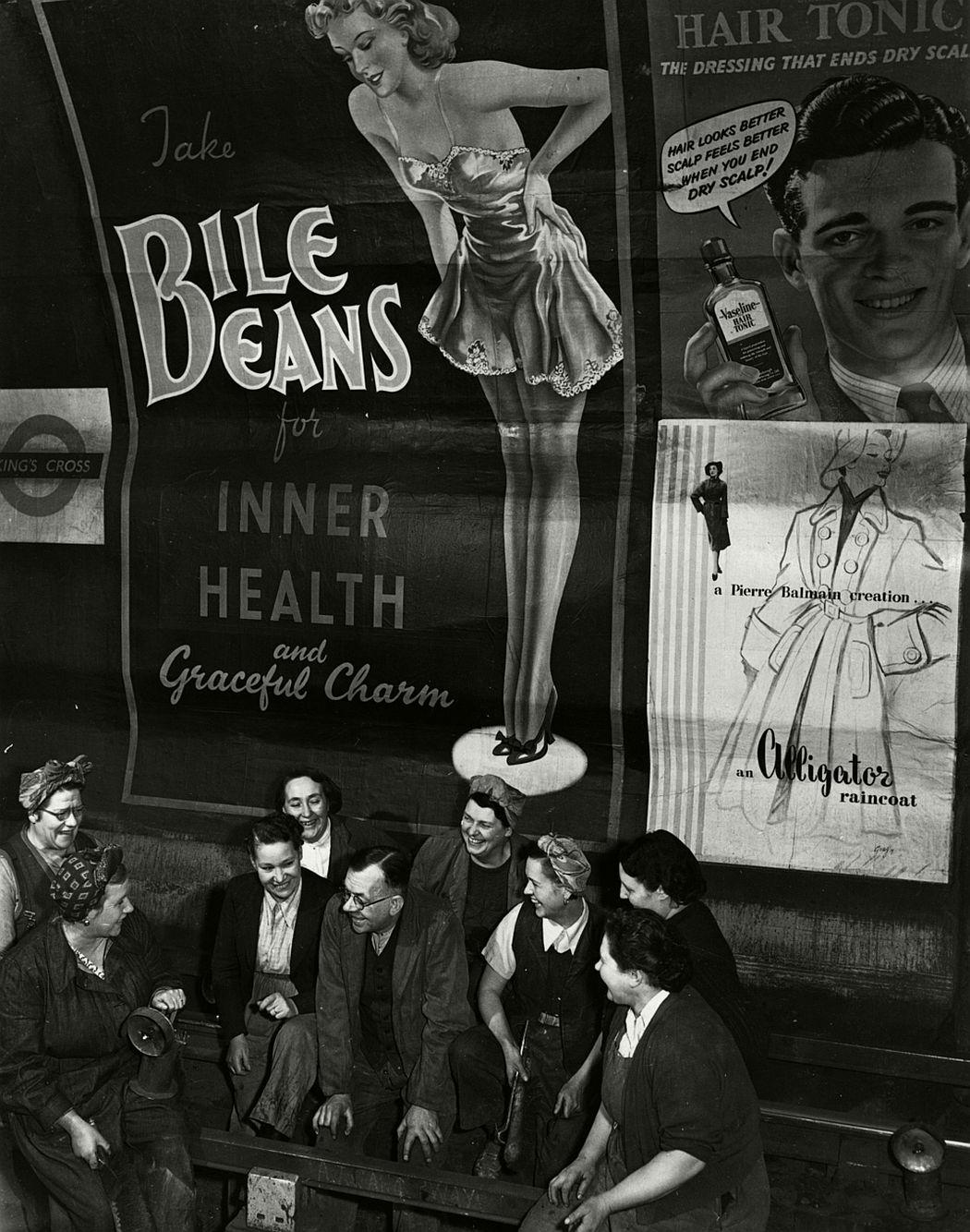 Underground life, 1955.