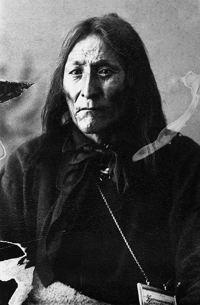 Crowfoot, chief of the Blackfoot, 1887