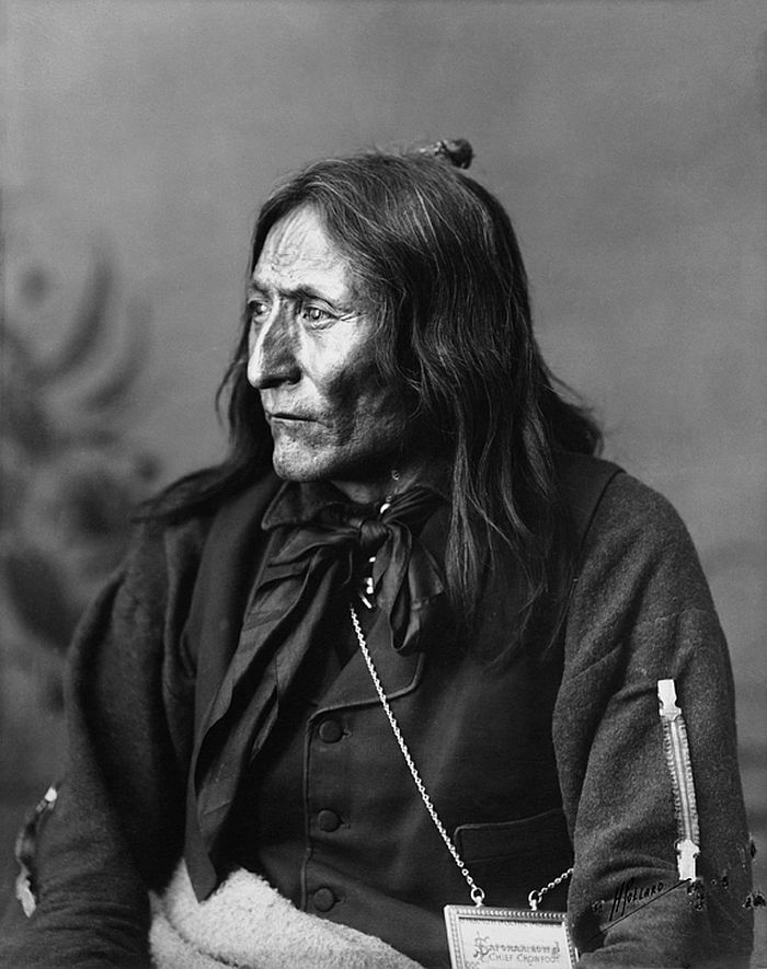 Crowfoot, head chief of the Blackfoot, 1887