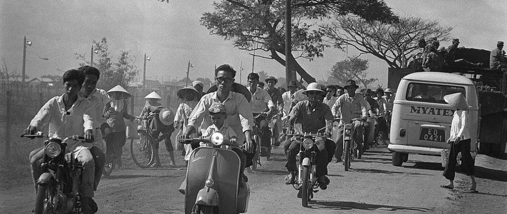 Vintage: Saigon by François Sully (1960s)