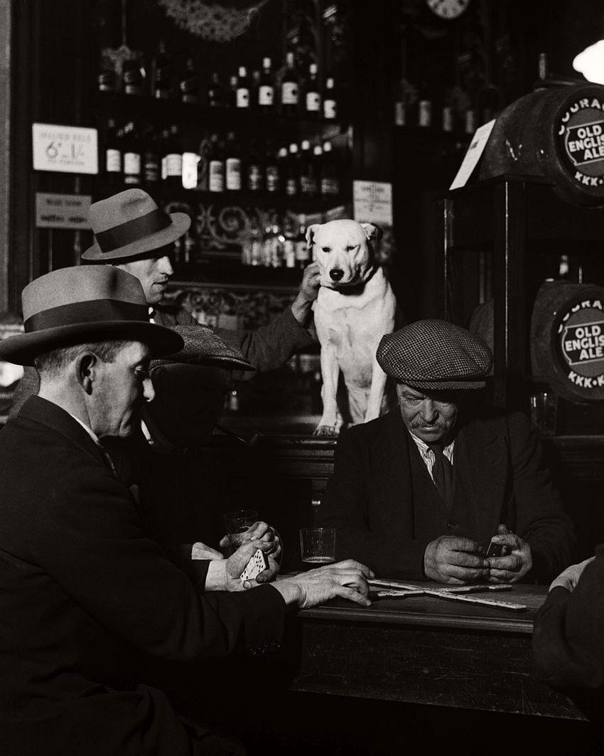 Domino Players, North London Pub, 1935.