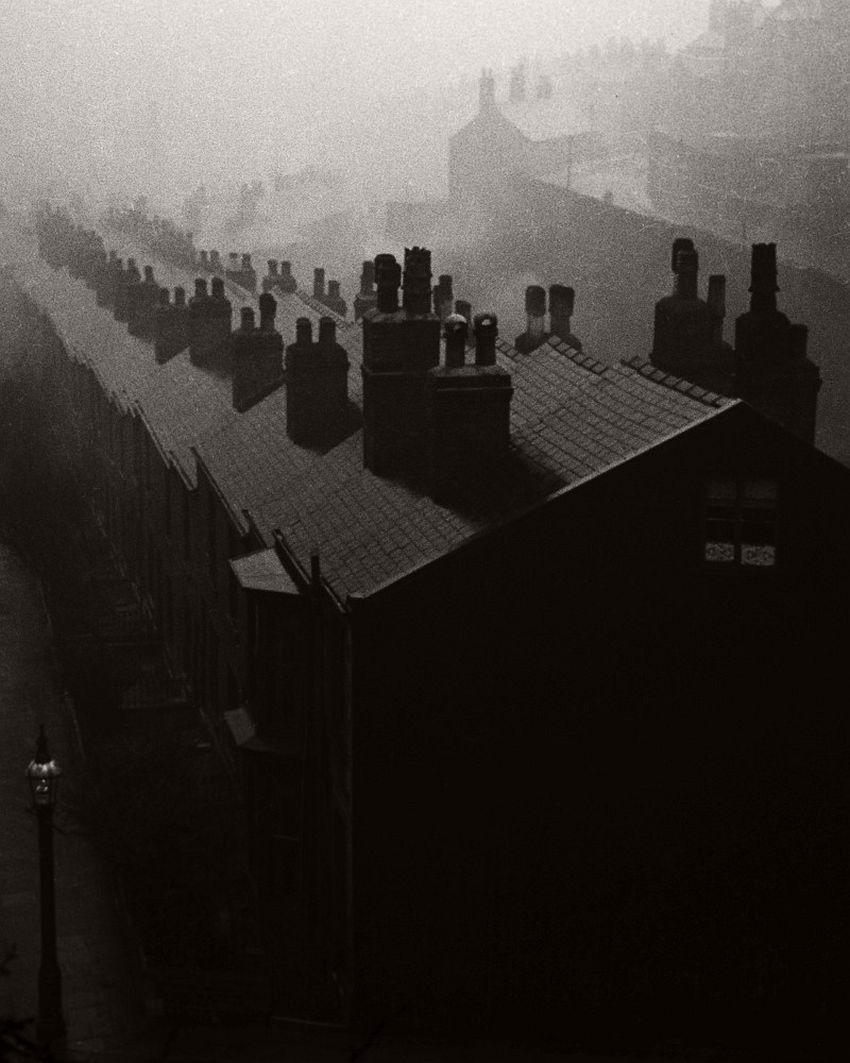 Misty Evening in Sheffield, 1937.
