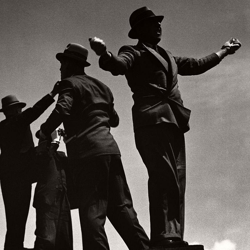 Tic-Tac Men at Ascot Races, 1935.