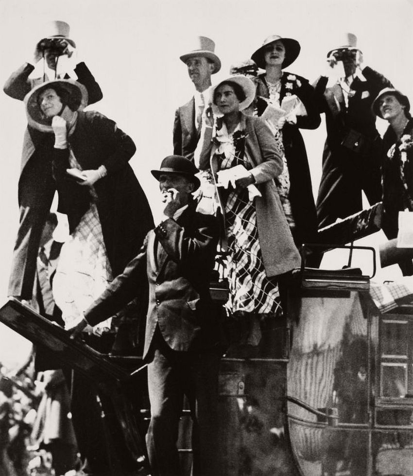 Gold Cup Day at Ascot, 1933.