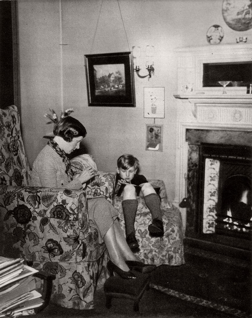 Family Fireside, 1936.