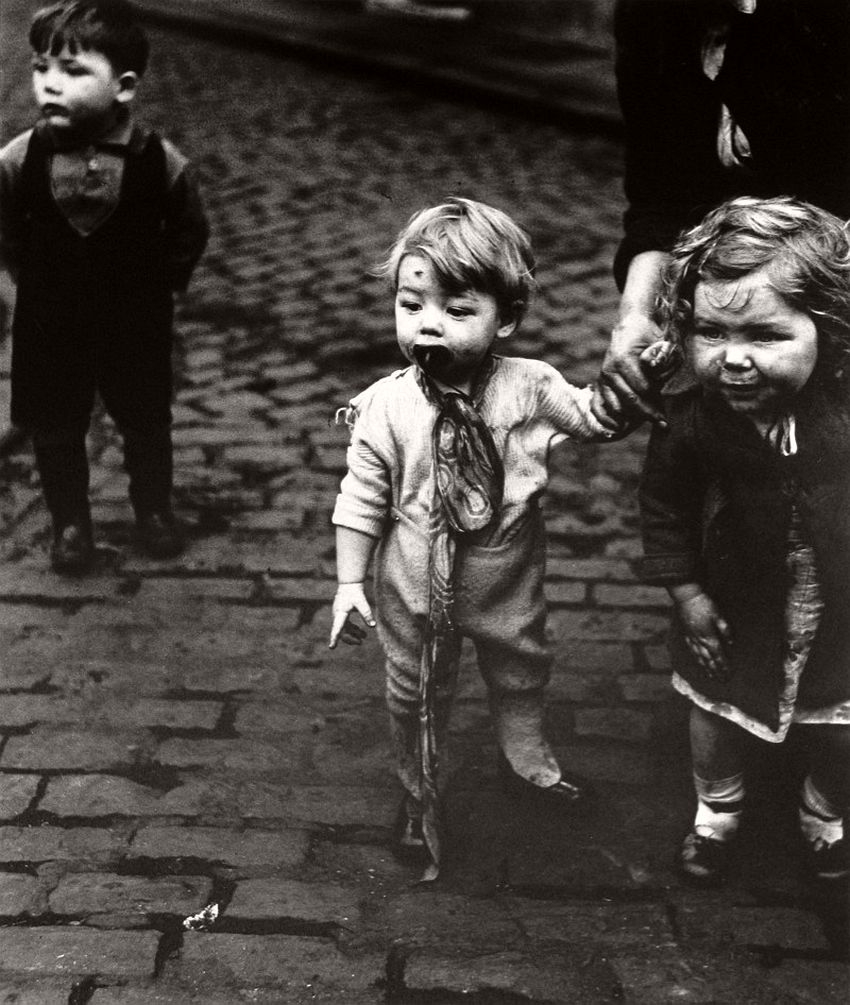 Children in Sheffield, ca. 1930.