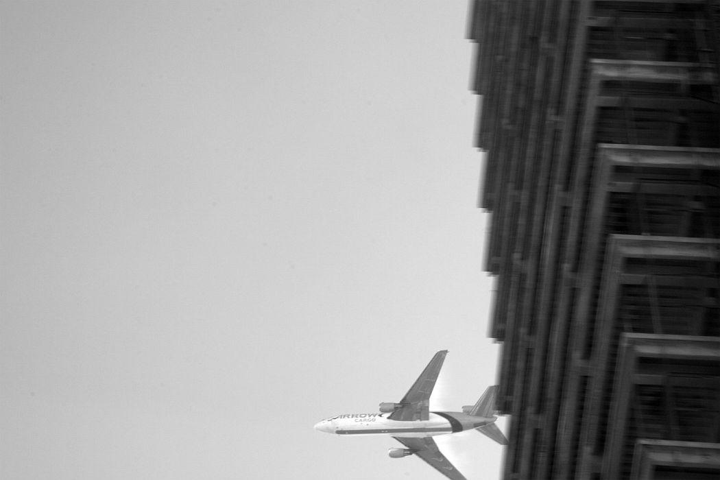 Ascending DC-10 Cargo Jet, Miami, 2010