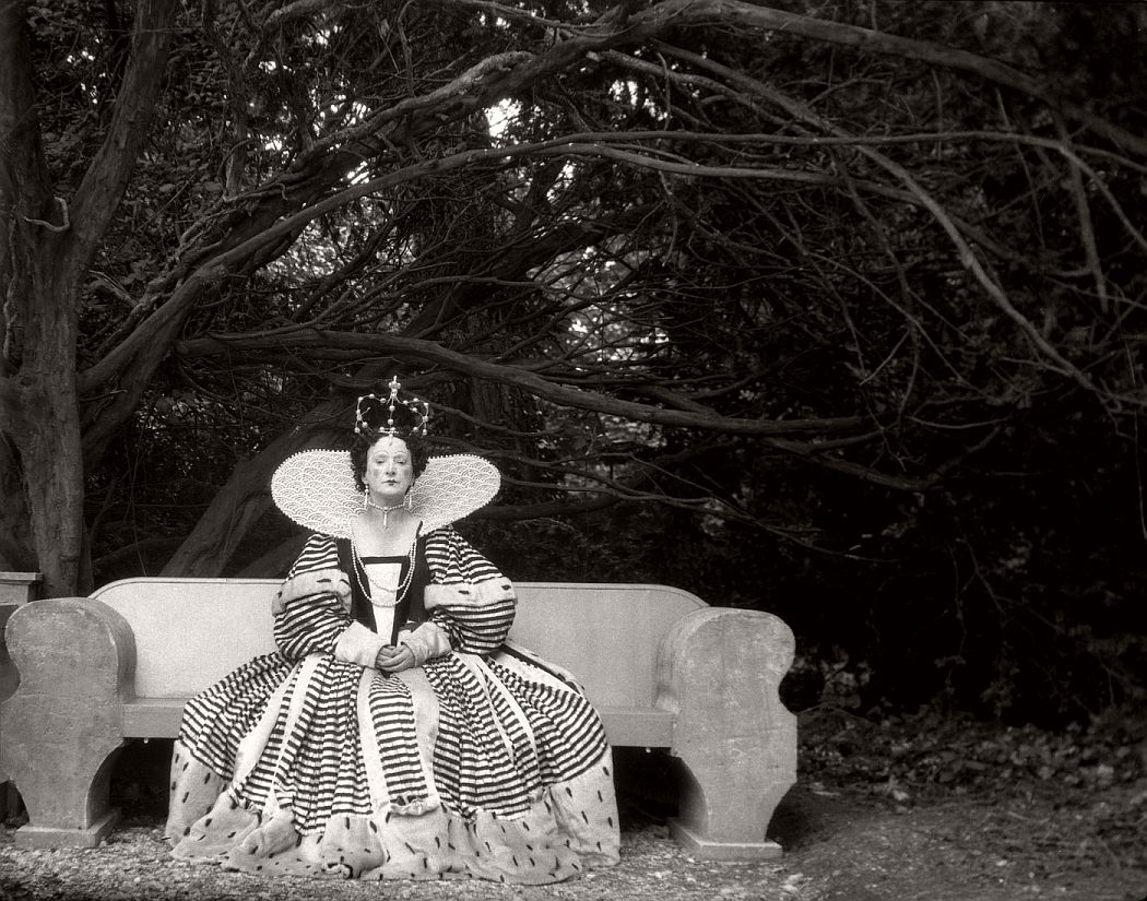 Edith Olivier, Mayor of Wilton, as Queen Elizabeth I for a pageant at Wilton 1932 © Cecil Beaton Archive, Sotheby's