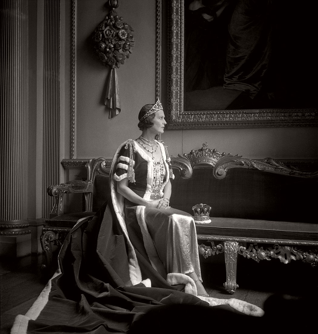 The Countess of Pembroke in her Robes for the Coronation of George VI 1937 © Cecil Beaton Archive, Sotheby's
