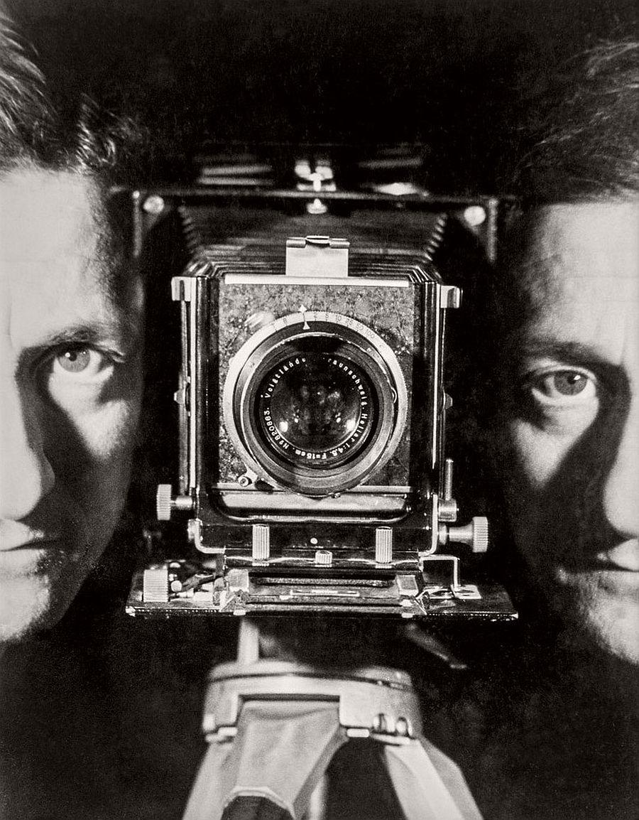 Erwin Blumenfeld Self-Portrait Paris, c. 1937