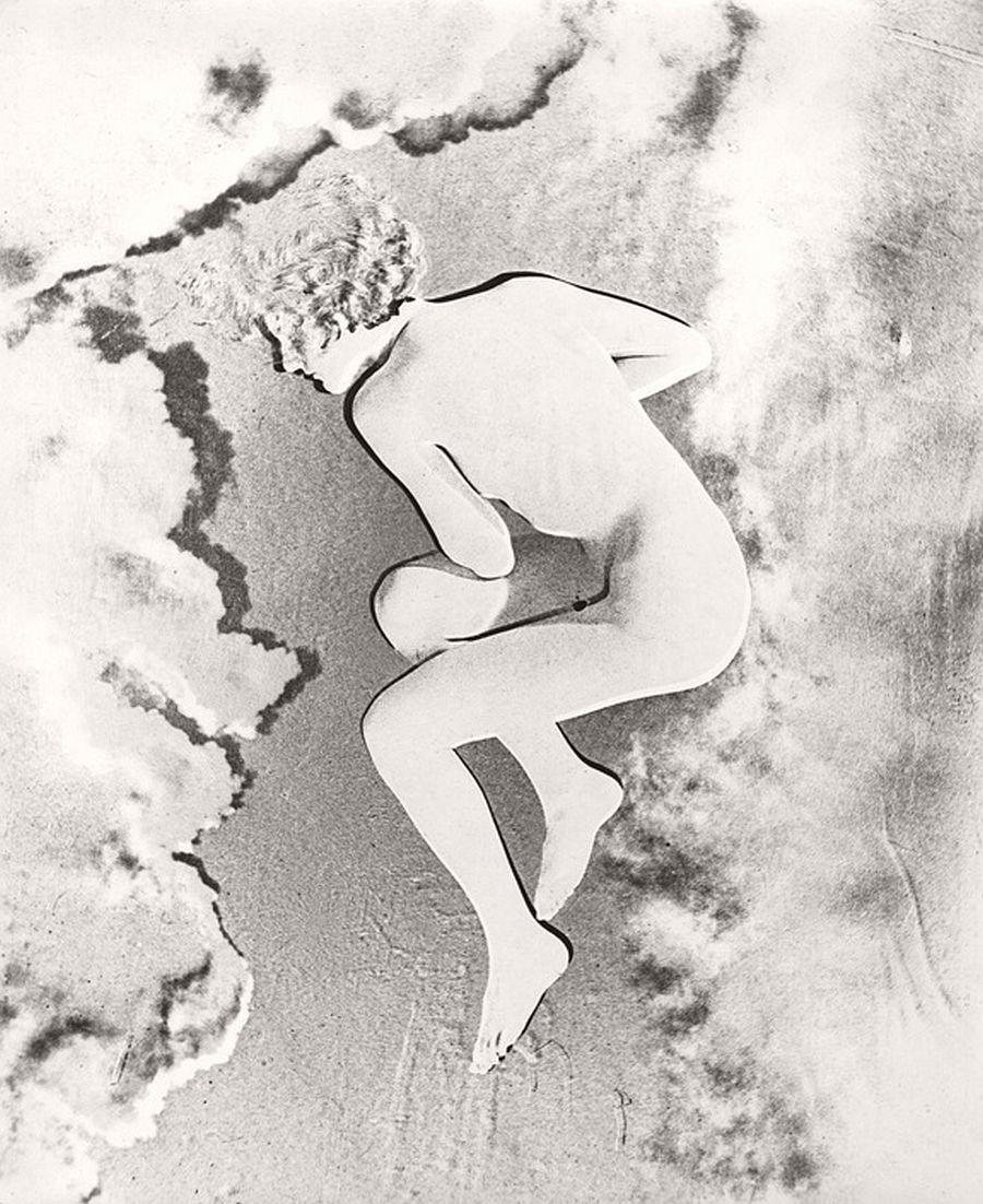 Erwin Blumenfeld Nude (Lisette) Paris, 1937