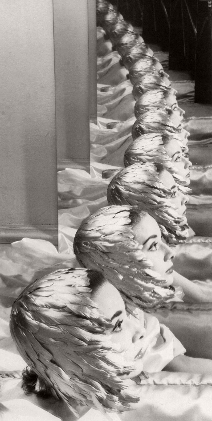 Erwin Blumenfeld Audrey Hepburn New York, 1950