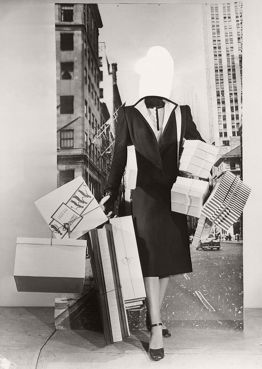 Erwin Blumenfeld Mode-Montage c. 1950