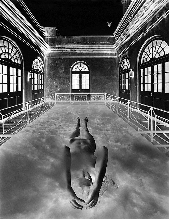 Jerry Uelsmann, Untitled, 1975