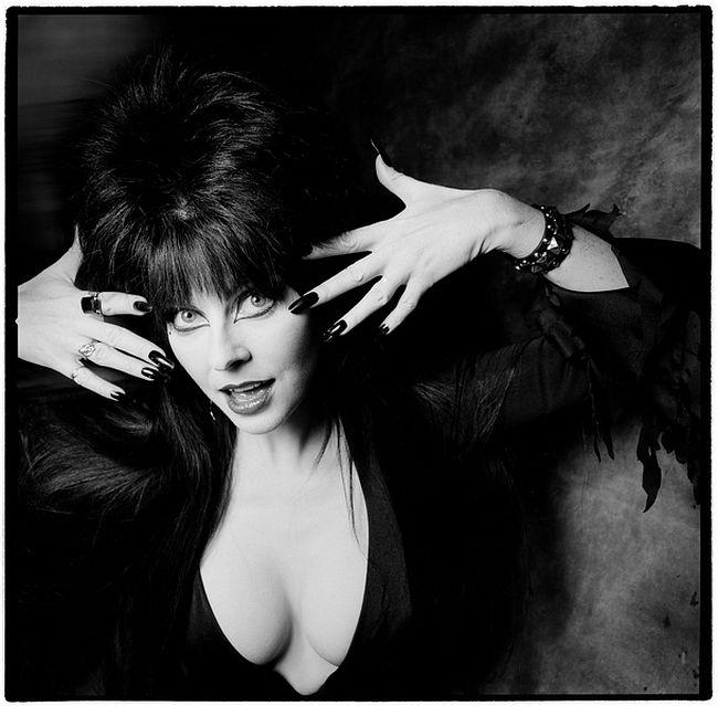 Karen Kuehn  Elvira • 1987 • NYC • Saturday Night Live, 1987