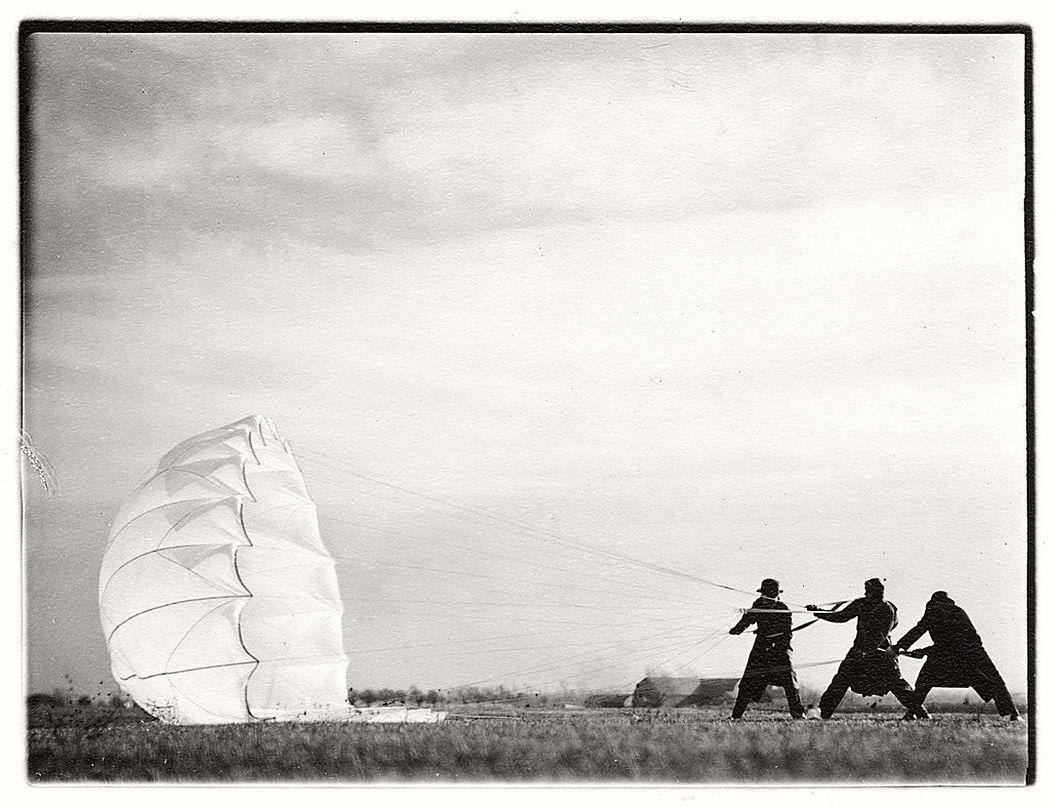 Margaret Bourke-White  Untitled #45 (Twenty Parachutes), 1937