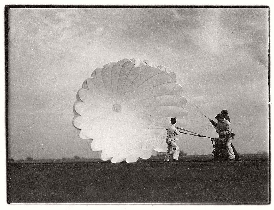Margaret Bourke-White  Untitled #15 (Twenty Parachutes), 1937
